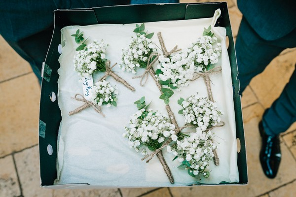 Box of buttonholes