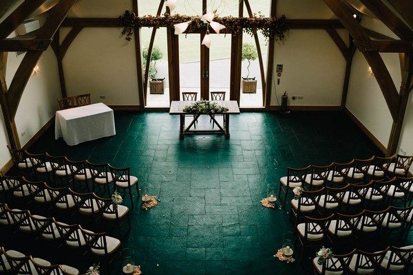 Mythe Barn ceremony room