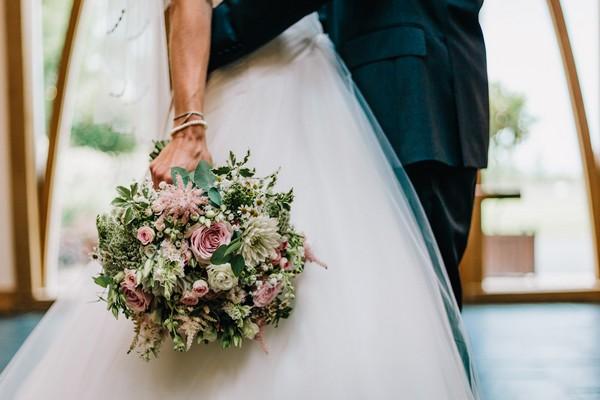 Bride's posy style bouquet