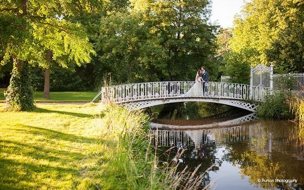 Bridge in grounds of Morden Hall