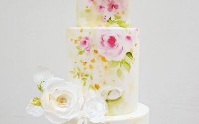 Hand-Painted Wedding Cakes – Edible Works of Art