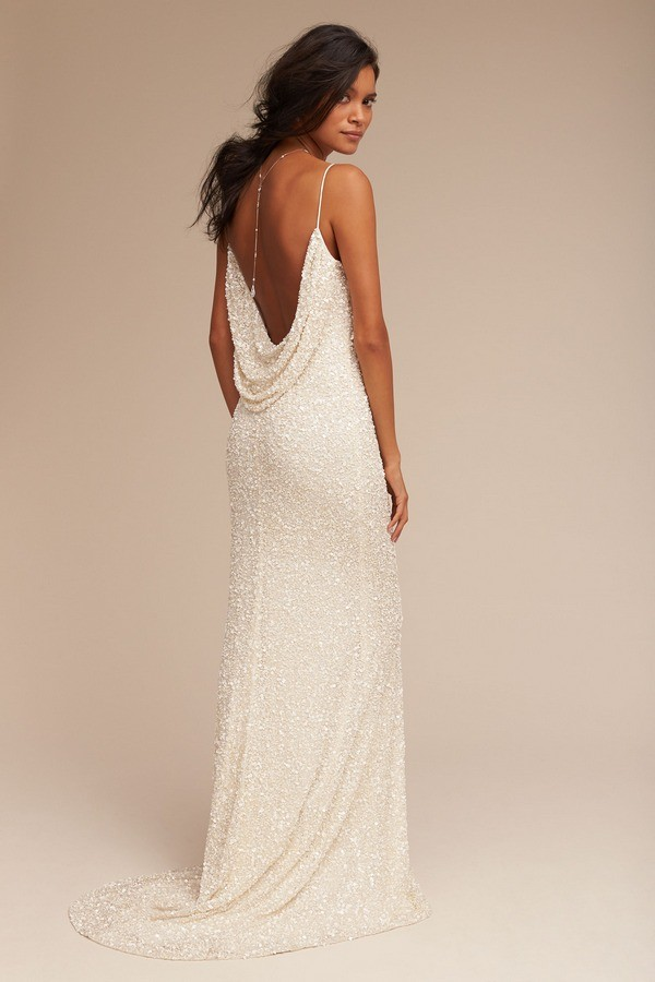 BHLDN Natalia cowl back wedding dress