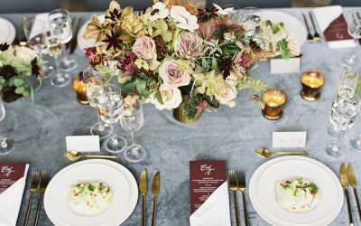 Cosy, Romantic Wedding Styling with Antique Tones