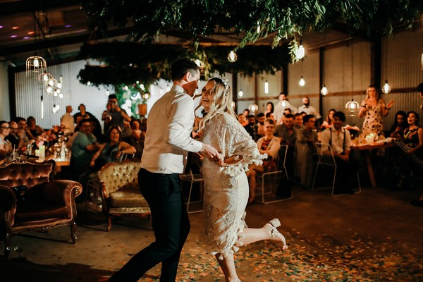 Choreographed first wedding dance