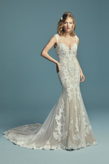 Abbie Wedding Dress from the Maggie Sottero Lucienne Fall 2018 Bridal Collection