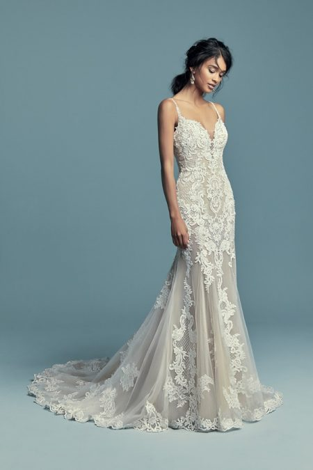 Abbie Marie Wedding Dress from the Maggie Sottero Lucienne Fall 2018 Bridal Collection