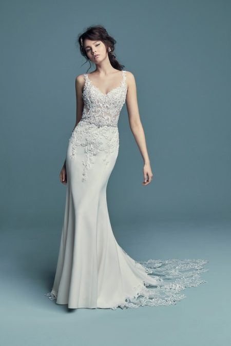 Alaina Wedding Dress from the Maggie Sottero Lucienne Fall 2018 Bridal Collection