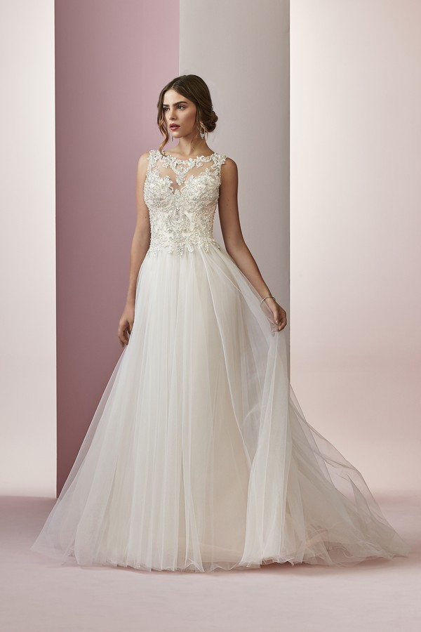 Amanda Wedding Dress from the Rebecca Ingram Camille Fall 2018 Bridal Collection