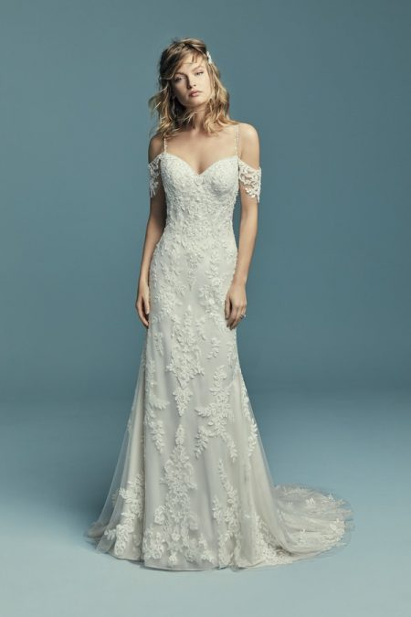 Angelica Wedding Dress from the Maggie Sottero Lucienne Fall 2018 Bridal Collection
