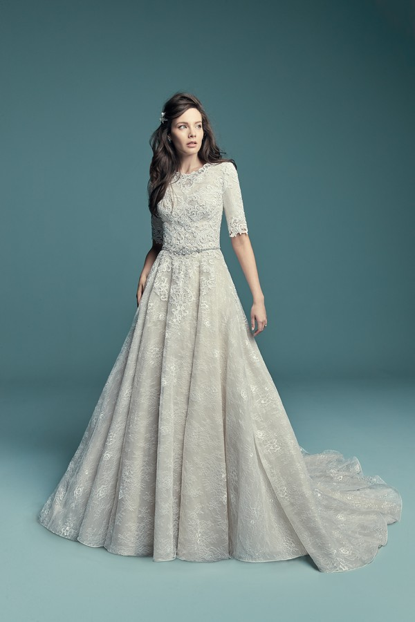 Annabella Marie Wedding Dress from the Maggie Sottero Lucienne Fall 2018 Bridal Collection
