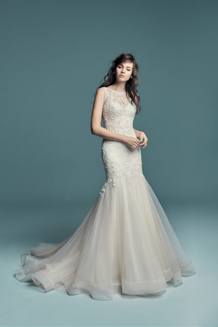 Ariella Wedding Dress from the Maggie Sottero Lucienne Fall 2018 Bridal Collection