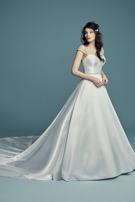 Benicia Wedding Dress from the Maggie Sottero Lucienne Fall 2018 Bridal Collection