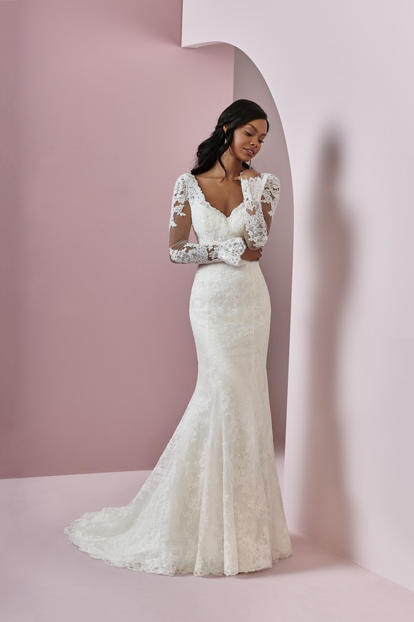 Bonnie Wedding Dress from the Rebecca Ingram Camille Fall 2018 Bridal Collection