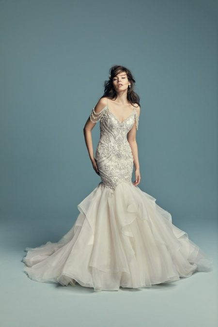 Brinkley Wedding Dress from the Maggie Sottero Lucienne Fall 2018 Bridal Collection