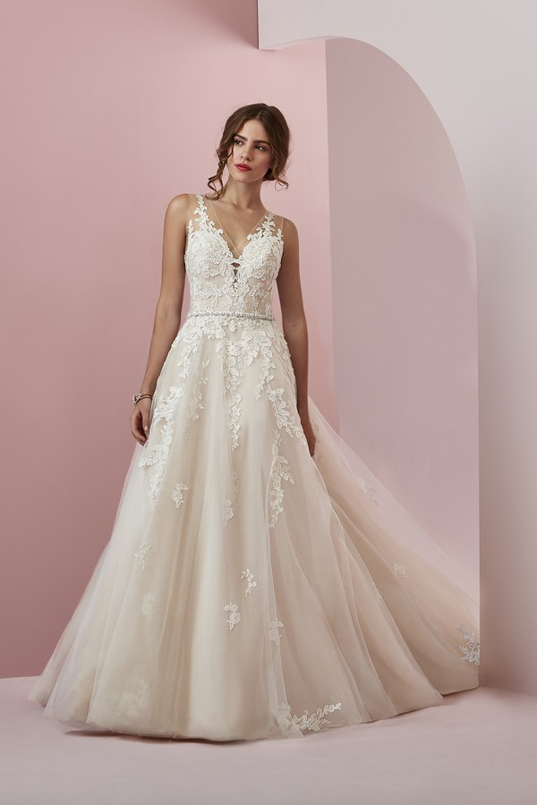 Camille Wedding Dress from the Rebecca Ingram Camille Fall 2018 Bridal Collection