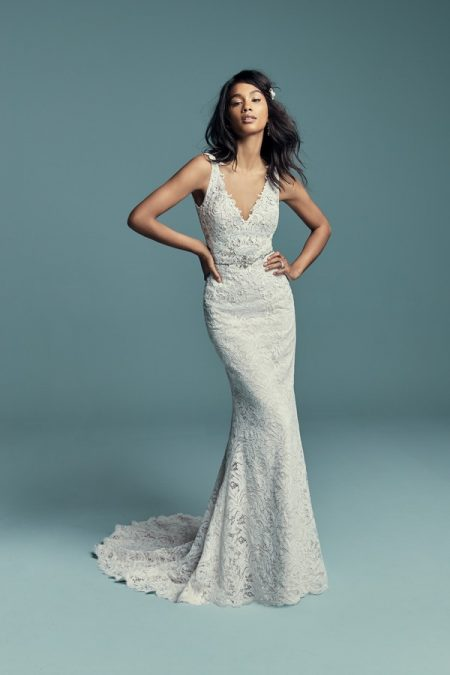 Caroline Wedding Dress from the Maggie Sottero Lucienne Fall 2018 Bridal Collection