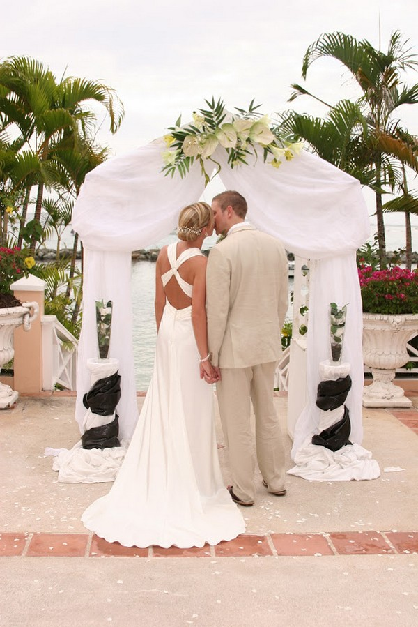 Couple Marrying at Coco Reef, Tobago