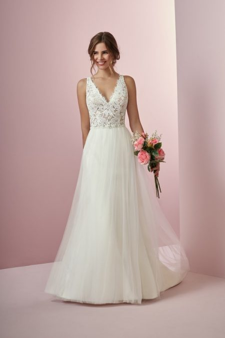 Connie Wedding Dress from the Rebecca Ingram Camille Fall 2018 Bridal Collection