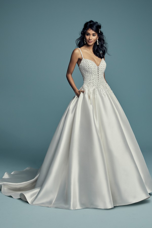 Dana Wedding Dress from the Maggie Sottero Lucienne Fall 2018 Bridal Collection