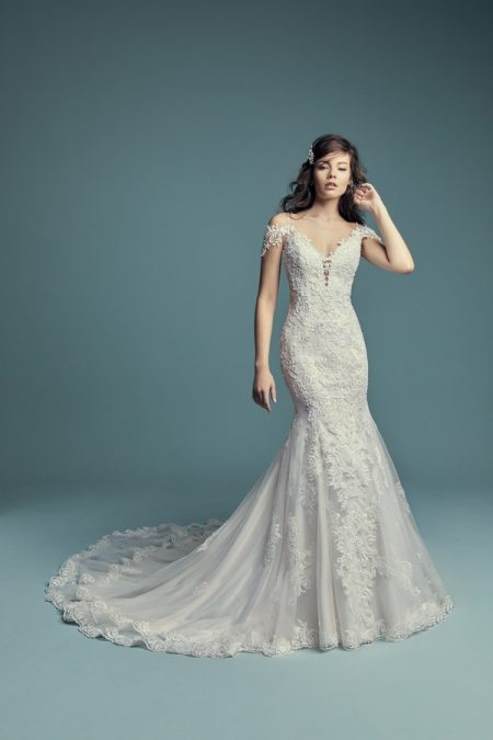 Della Wedding Dress from the Maggie Sottero Lucienne Fall 2018 Bridal Collection