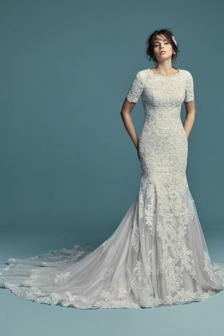 Della Marie Wedding Dress from the Maggie Sottero Lucienne Fall 2018 Bridal Collection