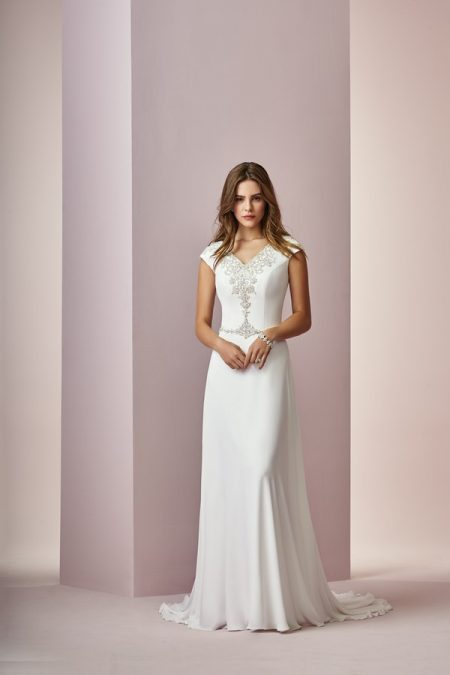 Denise Wedding Dress from the Rebecca Ingram Camille Fall 2018 Bridal Collection