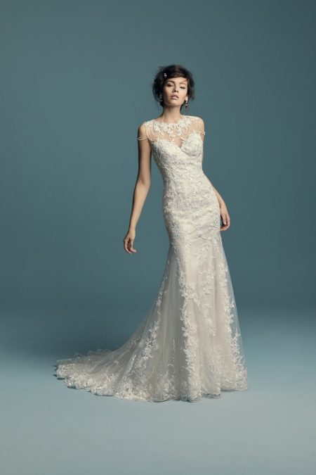 Dorinda Wedding Dress from the Maggie Sottero Lucienne Fall 2018 Bridal Collection
