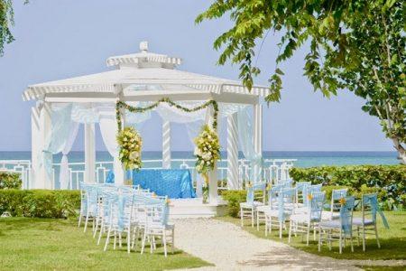 Wedding Ceremony Location at Dreams La Romana, Los Melones, Domincan Republic