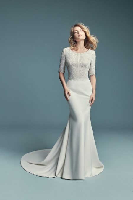 Edalene Wedding Dress from the Maggie Sottero Lucienne Fall 2018 Bridal Collection