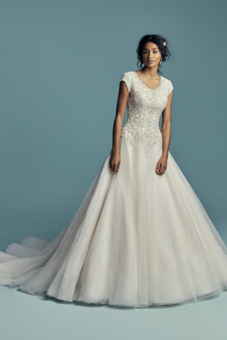 Eden Marie Wedding Dress from the Maggie Sottero Lucienne Fall 2018 Bridal Collection