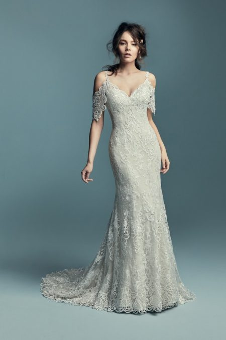 Elliana Wedding Dress from the Maggie Sottero Lucienne Fall 2018 Bridal Collection