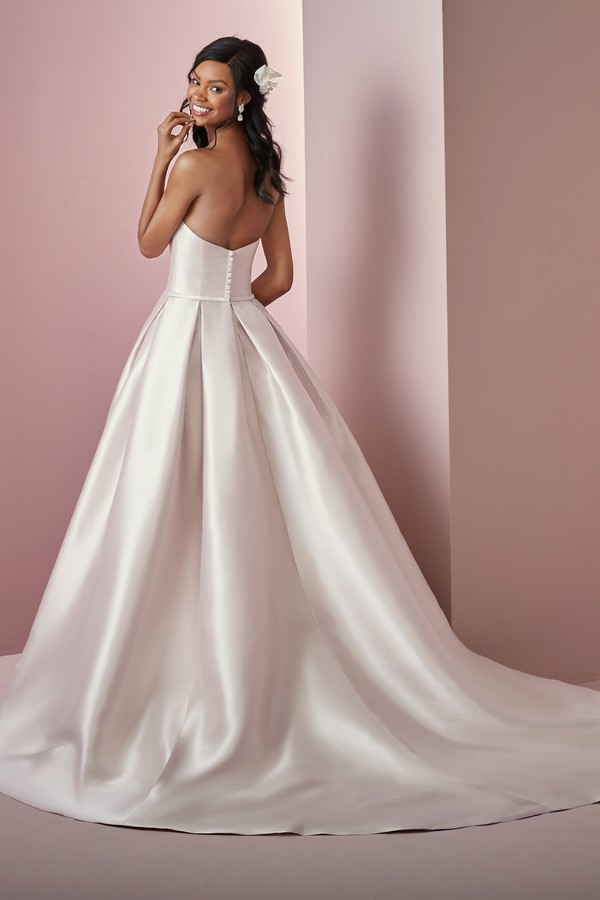 Back of Erica Anne Wedding Dress from the Rebecca Ingram Camille Fall 2018 Bridal Collection