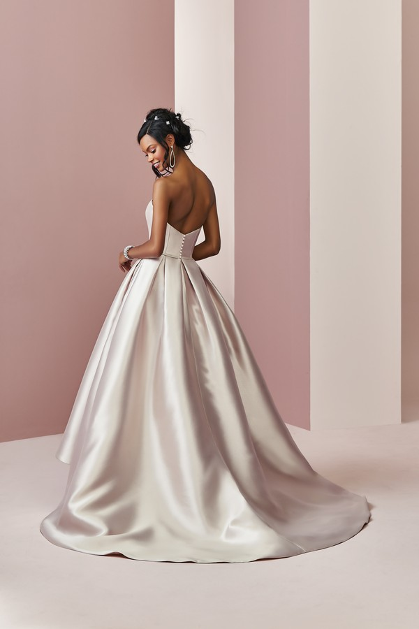 Back of Erica Wedding Dress from the Rebecca Ingram Camille Fall 2018 Bridal Collection