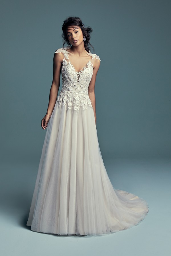 Farron Wedding Dress from the Maggie Sottero Lucienne Fall 2018 Bridal Collection