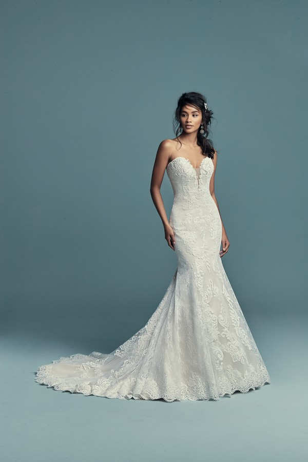 Freida Wedding Dress from the Maggie Sottero Lucienne Fall 2018 Bridal Collection