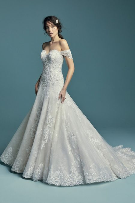 Gail Wedding Dress from the Maggie Sottero Lucienne Fall 2018 Bridal Collection