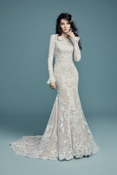 Hailey Lynette Wedding Dress from the Maggie Sottero Lucienne Fall 2018 Bridal Collection