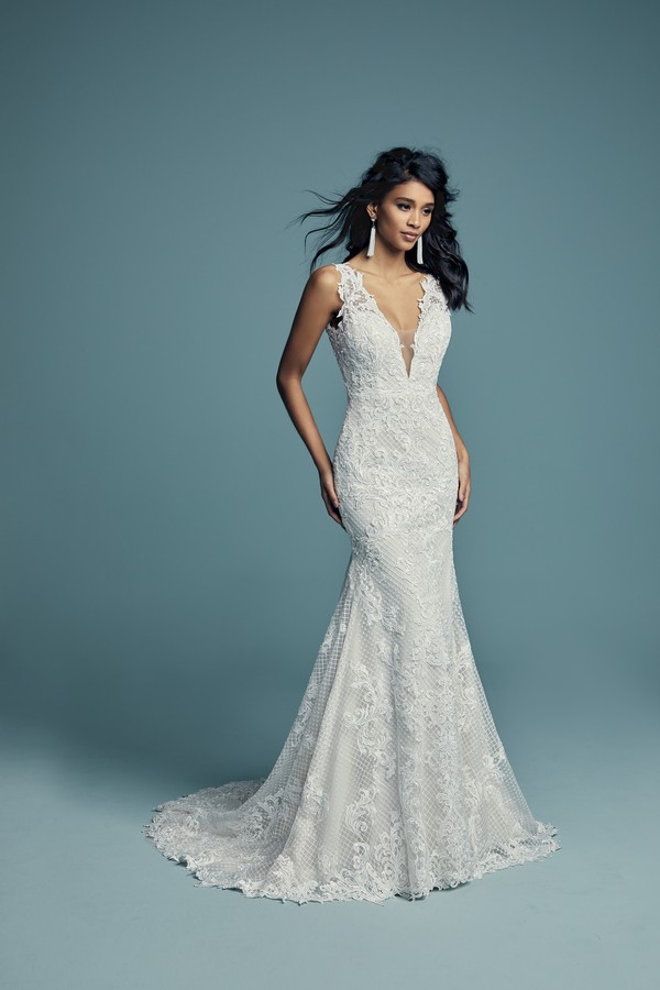 Hailey Wedding Dress from the Maggie Sottero Lucienne Fall 2018 Bridal Collection