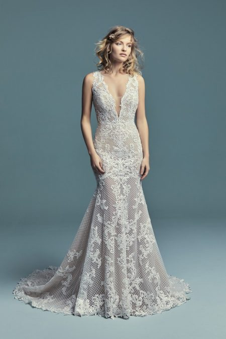 Hailey Marie Wedding Dress from the Maggie Sottero Lucienne Fall 2018 Bridal Collection