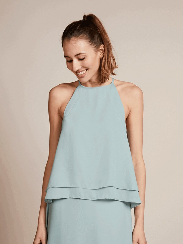 Havana Bridesmaid Top in Marine by Rewritten