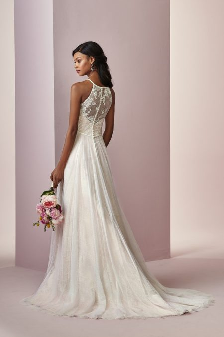 Back of Heidi Wedding Dress from the Rebecca Ingram Camille Fall 2018 Bridal Collection