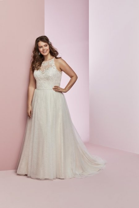 Heidi Plus Size Wedding Dress from the Rebecca Ingram Camille Fall 2018 Bridal Collection