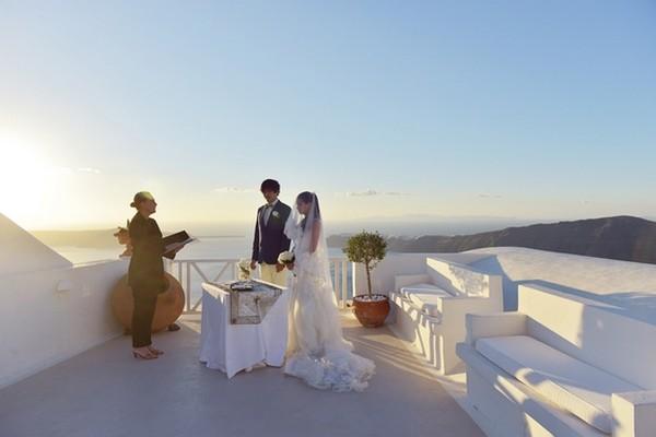 Heliotopos Hotel Wedding, Santorini