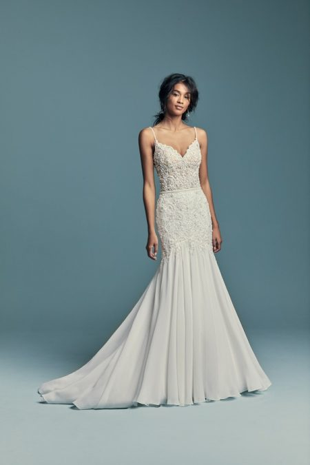 Imani Wedding Dress from the Maggie Sottero Lucienne Fall 2018 Bridal Collection