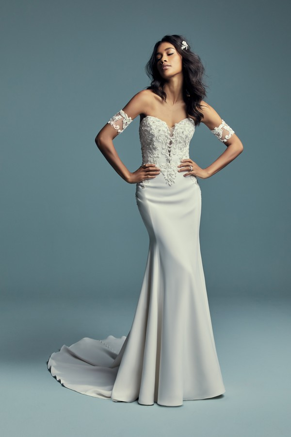 Kimbra Wedding Dress from the Maggie Sottero Lucienne Fall 2018 Bridal Collection