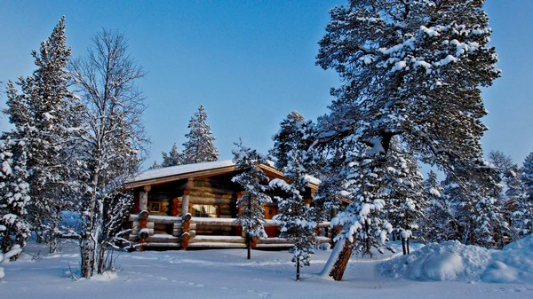 Log Cabin in Lapland