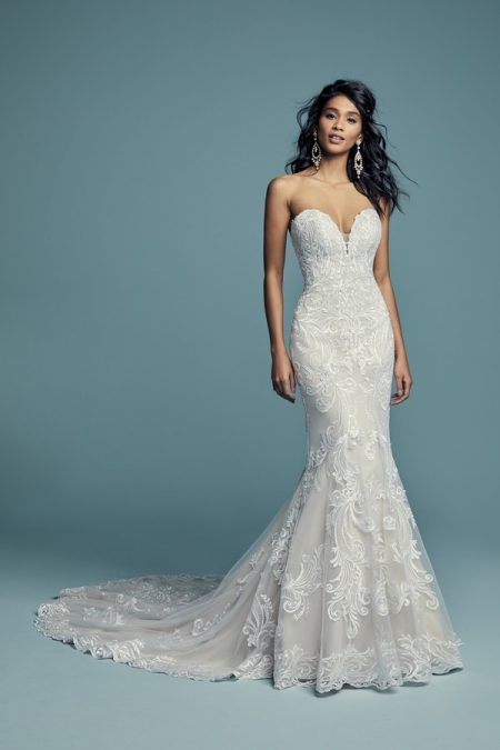 Luanne Wedding Dress from the Maggie Sottero Lucienne Fall 2018 Bridal Collection