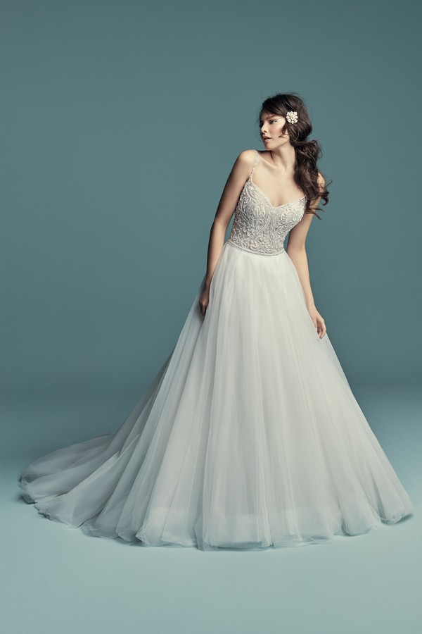 Lucca Wedding Dress from the Maggie Sottero Lucienne Fall 2018 Bridal Collection