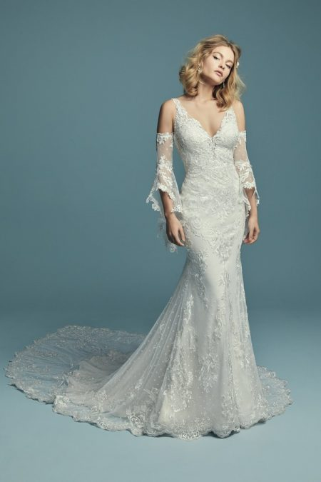 Lucienne Marie Wedding Dress from the Maggie Sottero Lucienne Fall 2018 Bridal Collection
