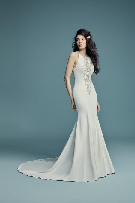 Maurelle Wedding Dress from the Maggie Sottero Lucienne Fall 2018 Bridal Collection